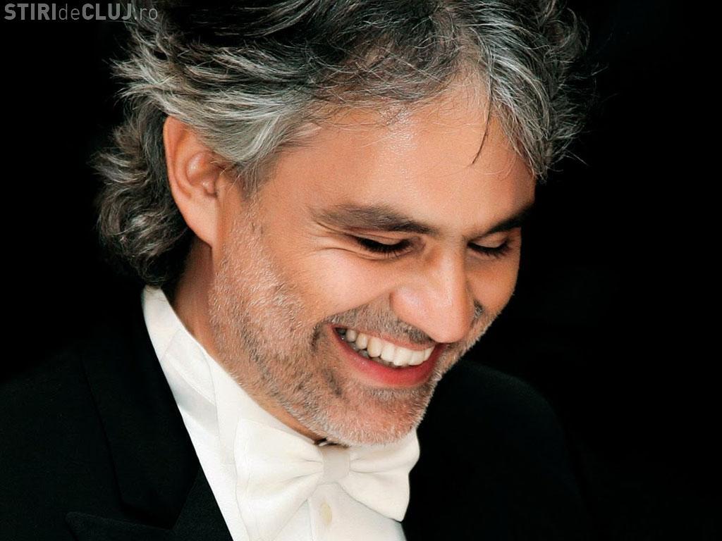 Lângă Andrea Bocelli, pe scena de la Cluj Arena vor urca Alessandro Safina și Gheorghe Zamfir