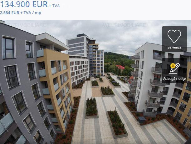 Cluj-Napoca: Apartament cu prețul de 2.500 euro / mp. Unde ajunge spirala revânzărilor?