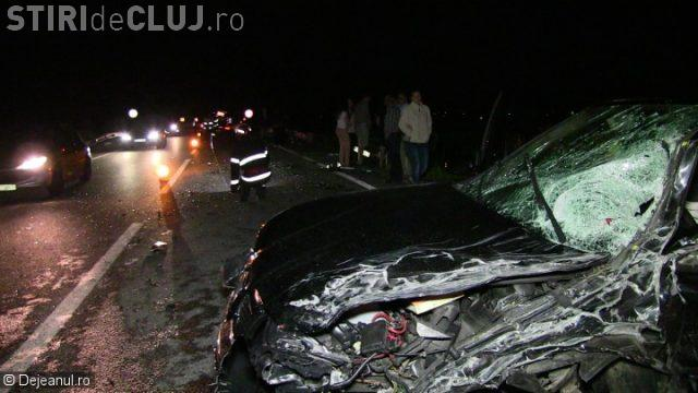 CLUJ: Accident cu patru victime la Coplean! Victimele au fost salvate de un pompier aflat în timpul liber VIDEO