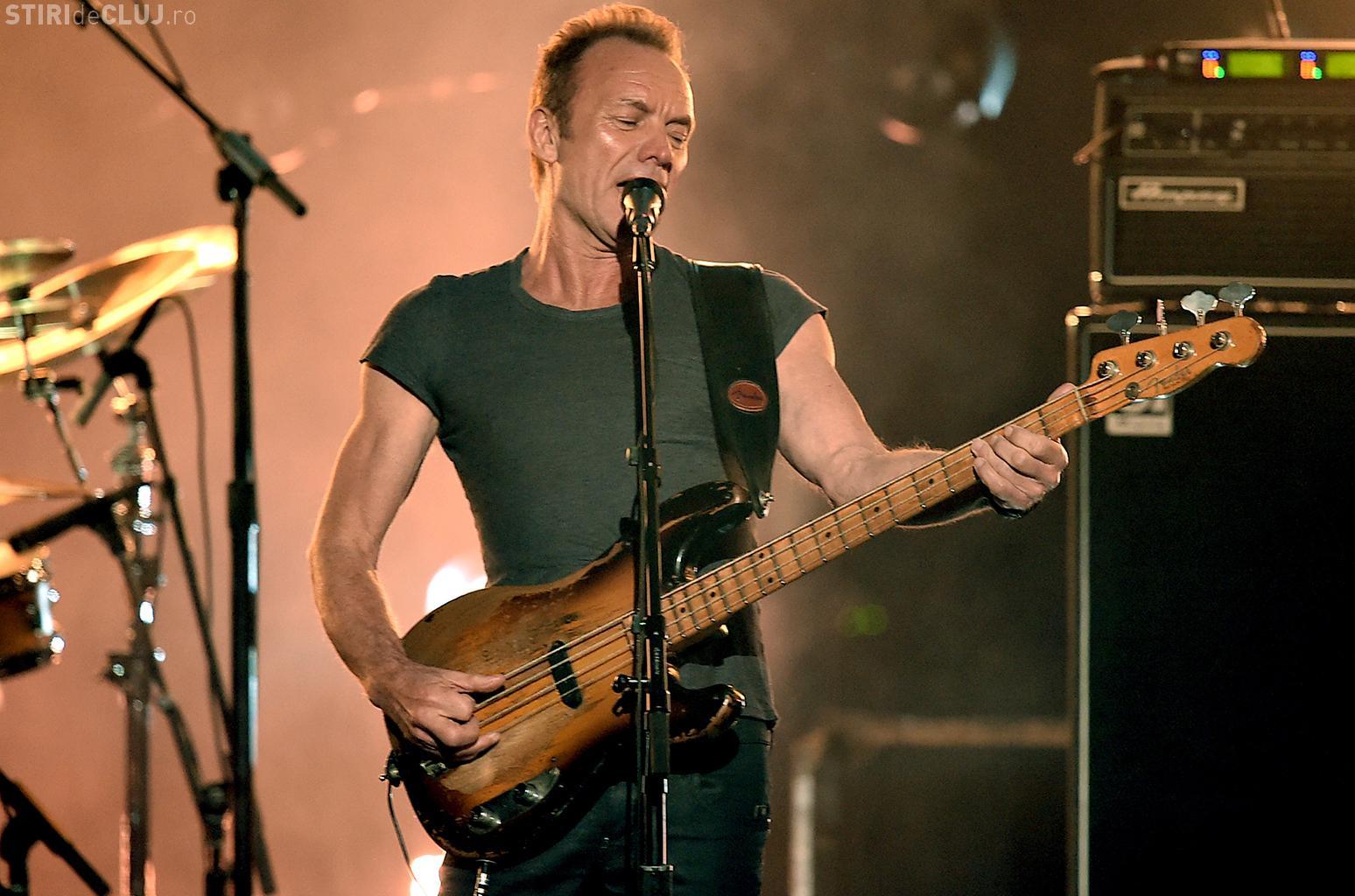 Concert Sting la Cluj, în octombrie