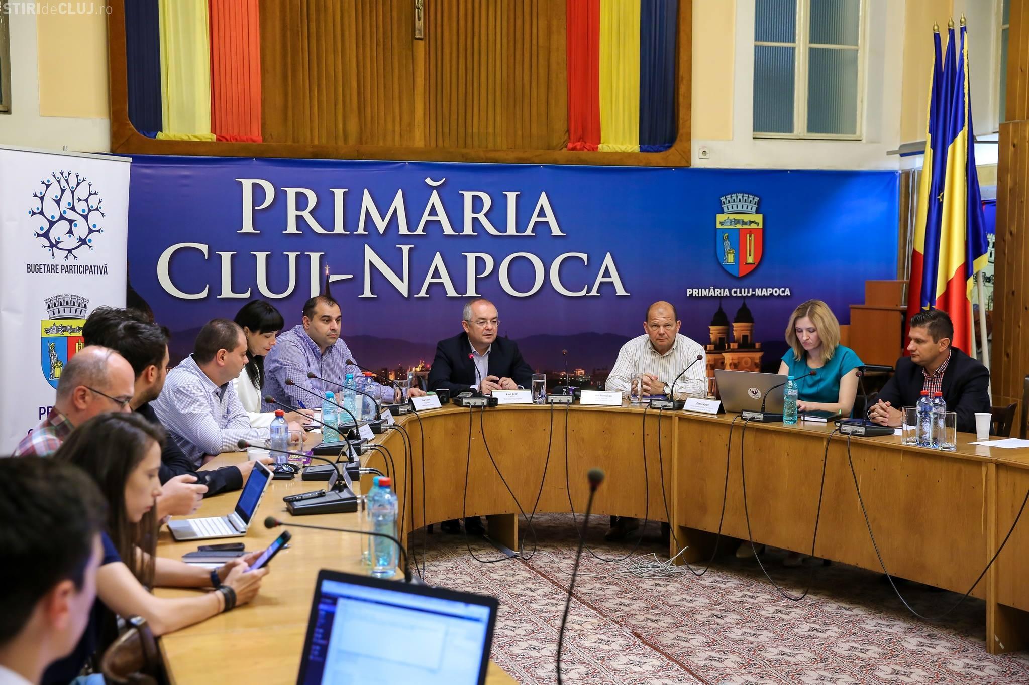 Clujenii au depus peste 330 de proiecte pentru oraș. Ce domenii vor să fie dezvoltate mai mult