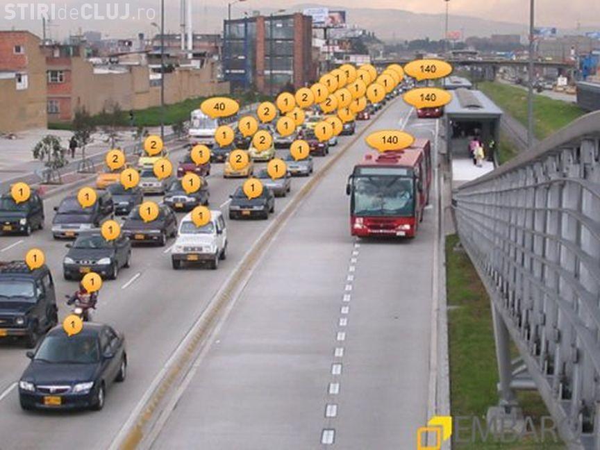 """Clujul să fie un """"CAR-FREE CITY"""". Ar trebui să dispară mașinile în favoarea autobuzelor"""