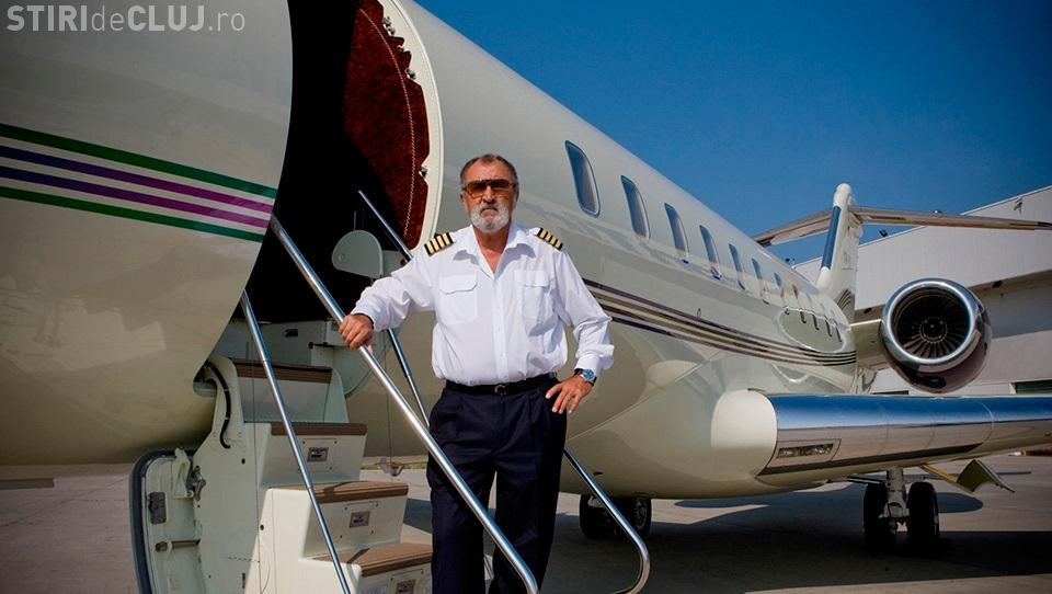 Pariu cu Ion Ţiriac și câștigi un avion de lux din flota sa: Îl dau cui reuşeşte să facă asta în România!