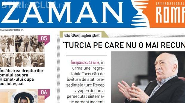 Cluj: Ziar de propagandă pro-Gulen şi anti-Erdogan, distribuit la un festival turcesc de la Sala Sporturilor