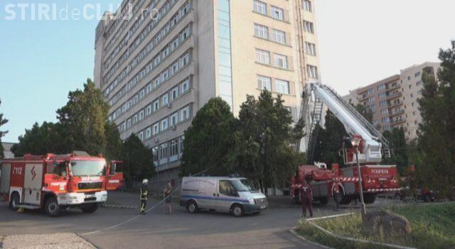 Sinucidere la Spitalul de Recuperare din Cluj-Napoca! O femeie s-a aruncat de la etajul 8 VIDEO