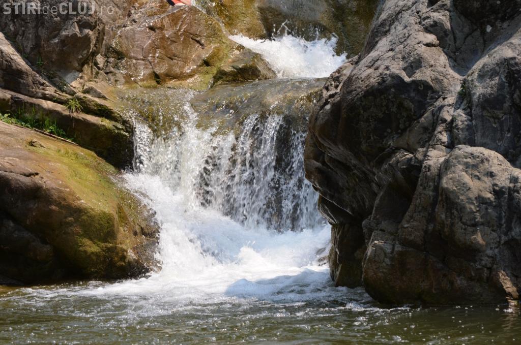 Cascada Valea Sasului, e la doi pași de Cluj-Napoca - FOTO