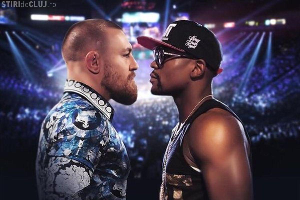 """Floyd Mayweather a câștigat """"Lupta secolului""""! L-a făcut TKO pe irlandezul Conor McGregor VIDEO"""