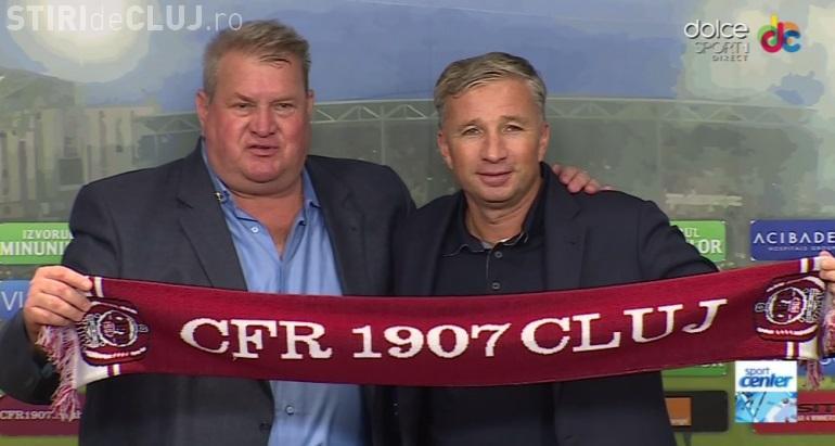 """Dan Petrescu apără CFR Cluj: """"Îmi vine să plec iar în altă parte după ce abia m-am întors în țară""""."""