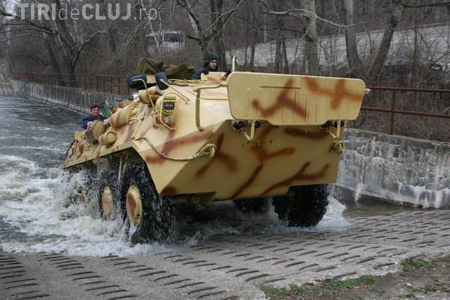 Exercițiu NATO eșuat! Un TAB al Ministerului Apărării s-a scufundat în Dunăre