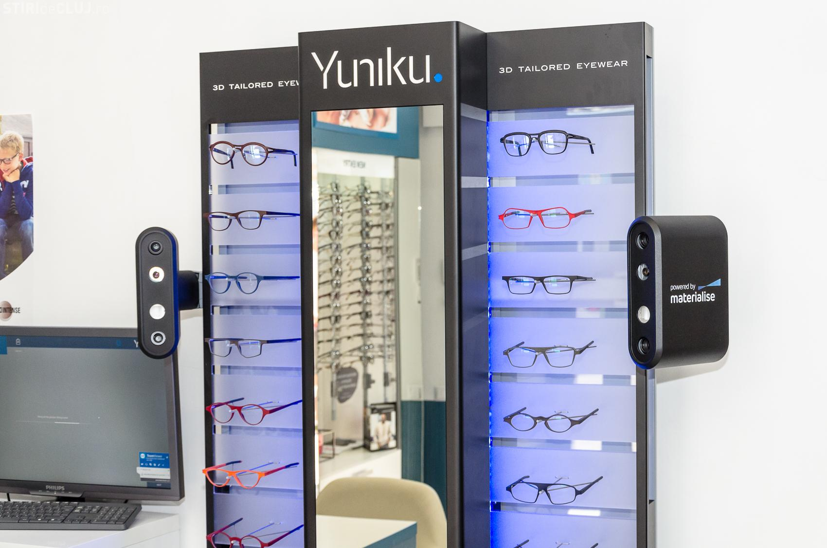 Gama Optic a adus la Cluj tehnologia Yuniku, care oferă rame printate 3D și ochelari customizați