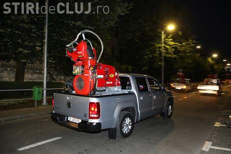 Începe o nouă etapă de dezinsecție la Cluj. Vezi când va avea loc