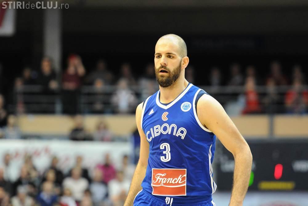 """Interviul cu jucătorul U-BT, Zeljko Sakic: """"Putem ajunge chiar foarte sus"""""""