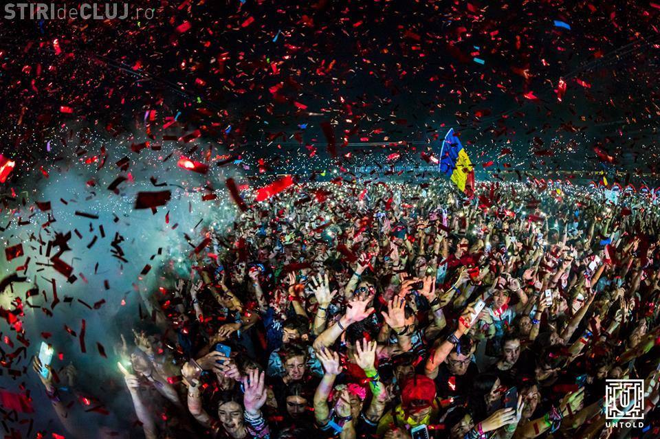 """Peste 86.000 de oameni în ziua 4 de UNTOLD! Steve Aoki a zis că e """"cel mai tare festival din lume"""""""