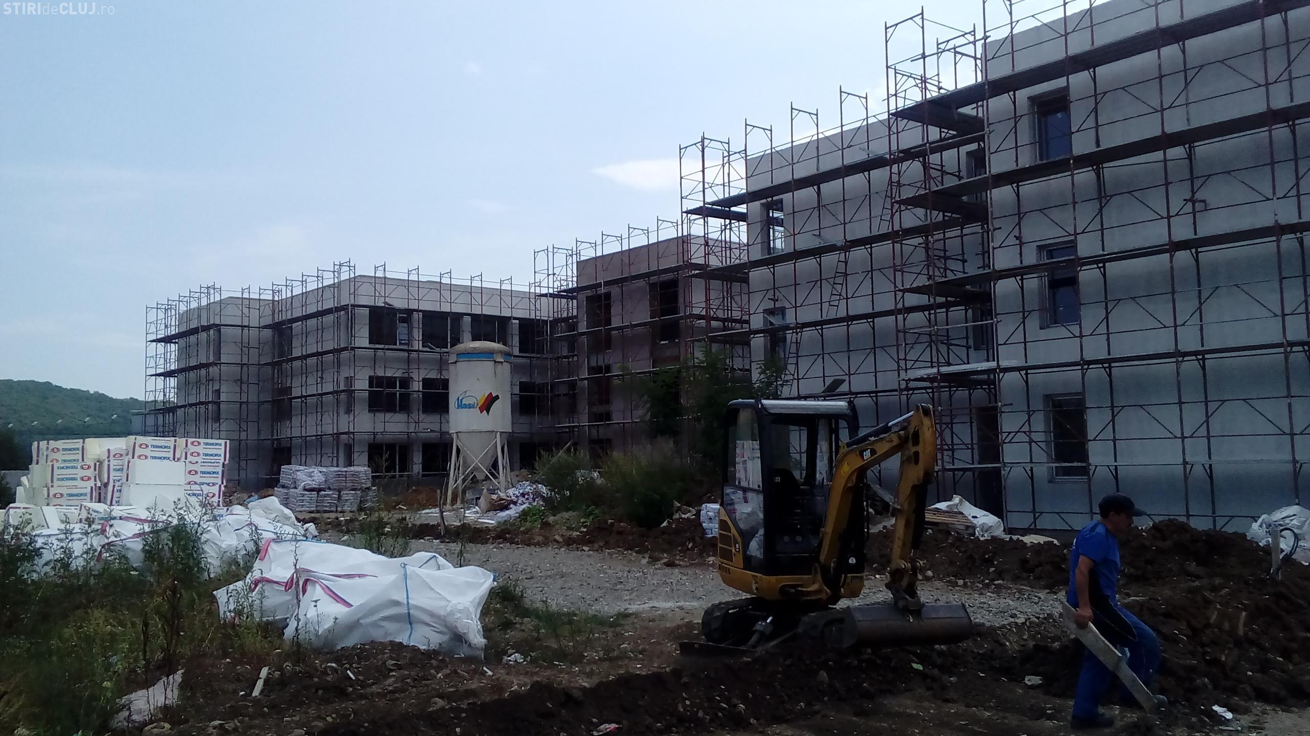 Școala din Florești va fi terminată până în luna octombrie - FOTO
