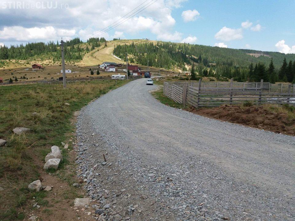 Atenție șoferi! Se lucrează la drumul județean Muntele Băișorii-Muntele Mare