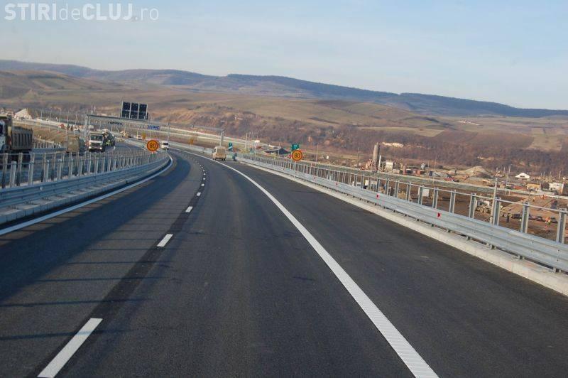 Terasamentul unei autostrăzi din România s-a prăbușit