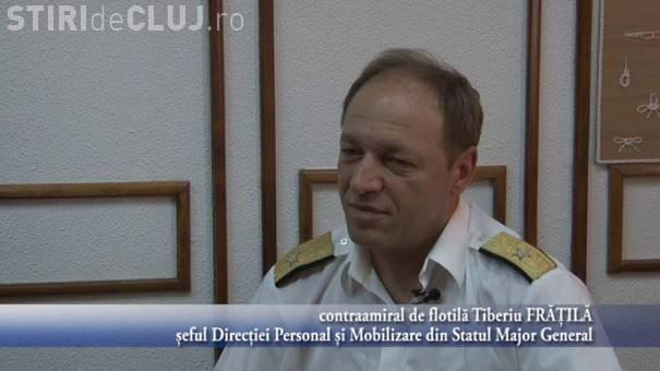 Contraamiralul de flotilă Tiberiu Frăţilă are o pensie de 10.000 de lei, o treime cât au alții