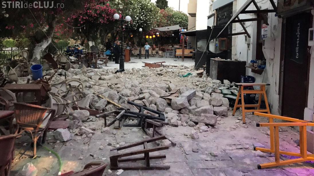 Stațini din Turcia și Grecia afectate de un cutremur puternic. Două persoane au murit și alte 200 au fost rănite