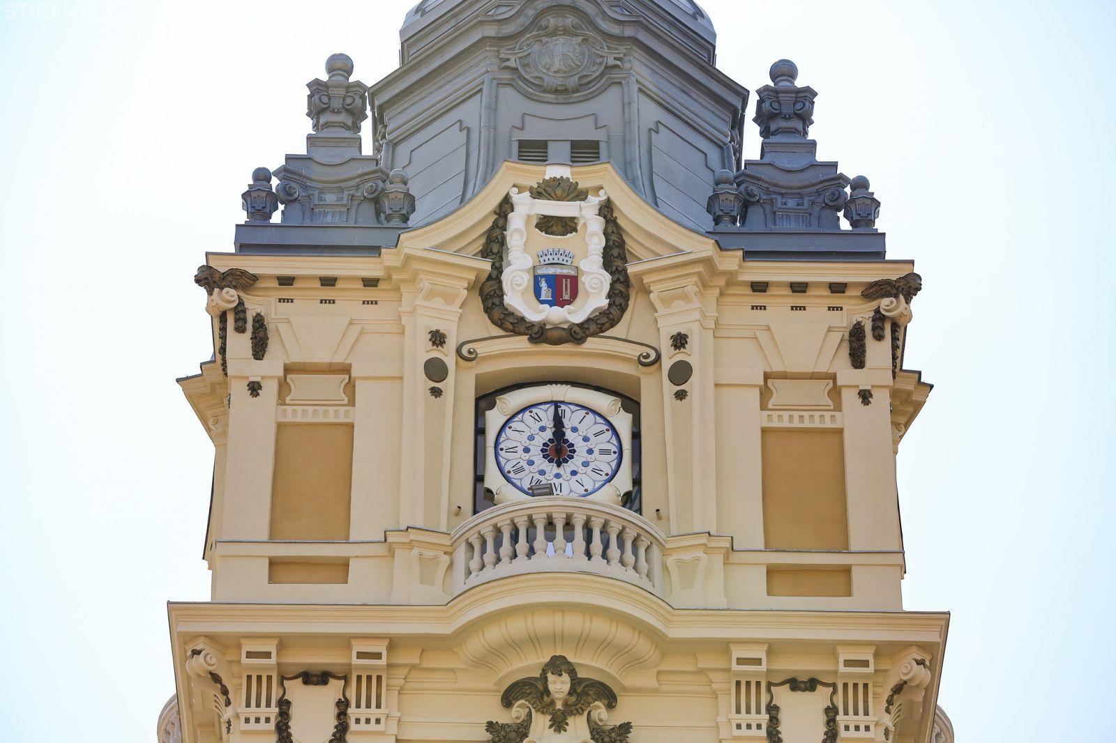 Cluj-Napoca: Imnul Național al României va răsuna din turnul Primăriei