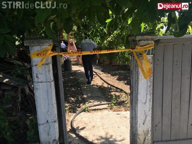 CLUJ: Incendiu la o gospodărie din Câțcău. Un bătrân a murit VIDEO