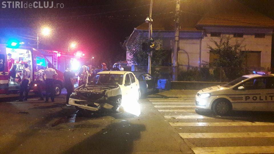 Accident la intersecția stăzii Giuseppe Garibaldi și B-dul 1 Decembrie - FOTO