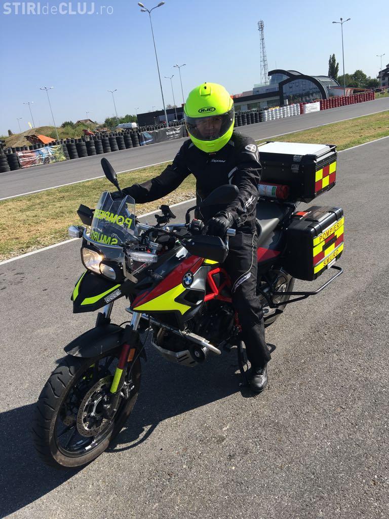 ISU Cluj prezintă motocicletele SMURD de intervenție la accidente. Din păcate, nu vor deservi tot județul