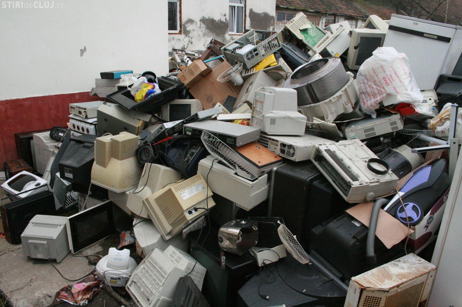 Cluj: În 26 august puteți arunca deșeurile electronice la puncte special amenajate