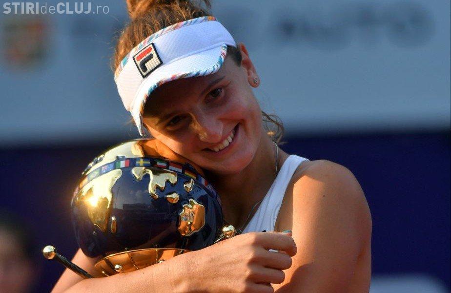 Irina Begu e noua campioană a turneului de la București: Sunt obosită, dar foarte fericită
