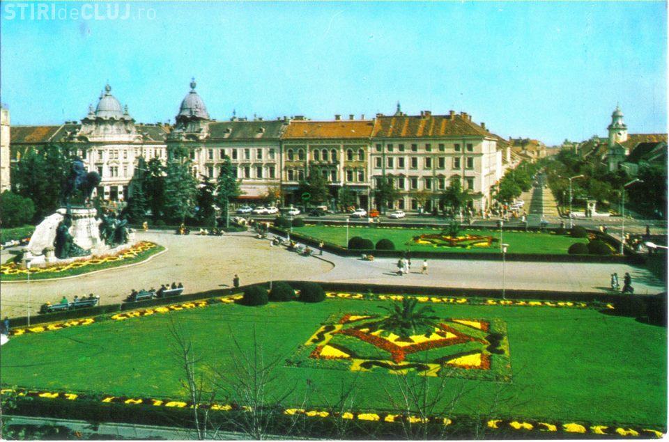 Clujul eleganței de odinioară. Centrul era verde până în anii 90 - EXPOZIȚIE FOTO