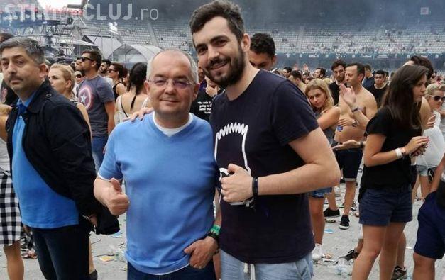 Clujeanul care și-a făcut poză cu Emil Boc la Untold, RUPT în bătaie la festival