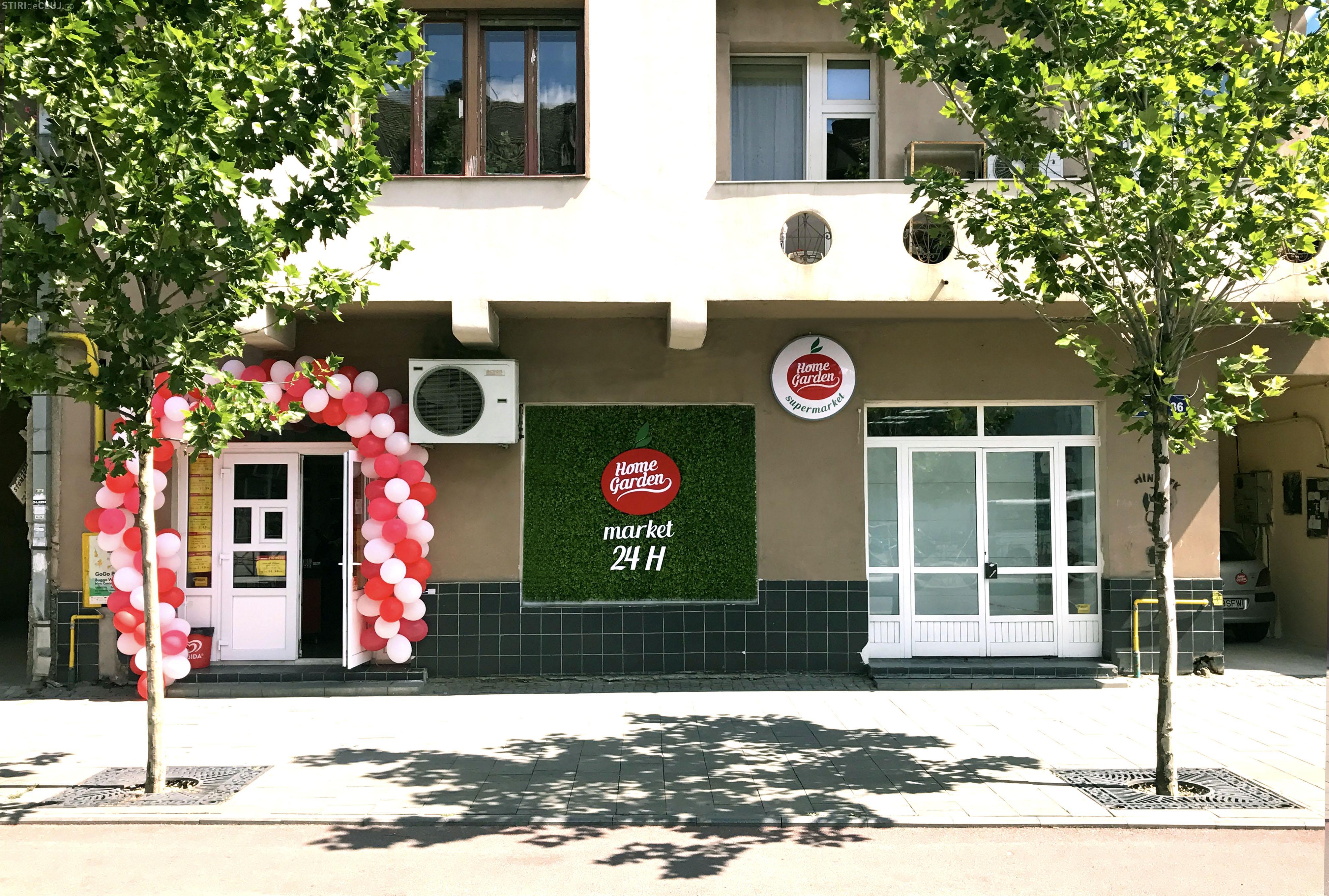 Home Garden a deschis un nou magazin Non Stop în Cluj, demarând planurile de expansiune a magazinelor de tip Market local (P)