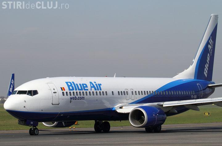 Blue Air va lansa zborul Cluj-Napoca - Tel Aviv