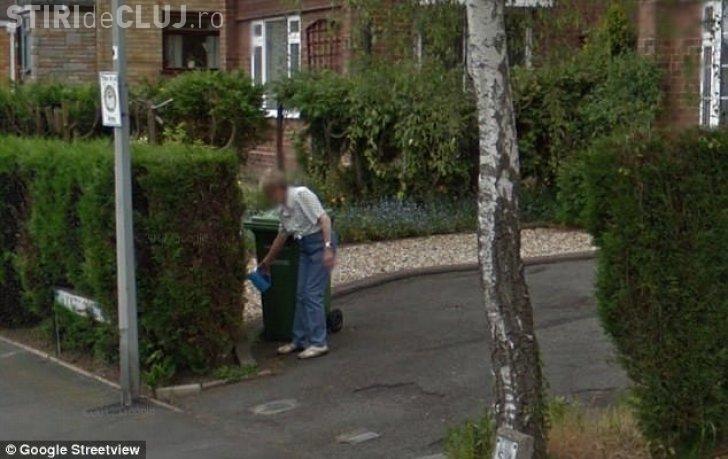 S-a uitat pe Google Earth la fosta ei casă și a înghețat când a văzut cine uda florile