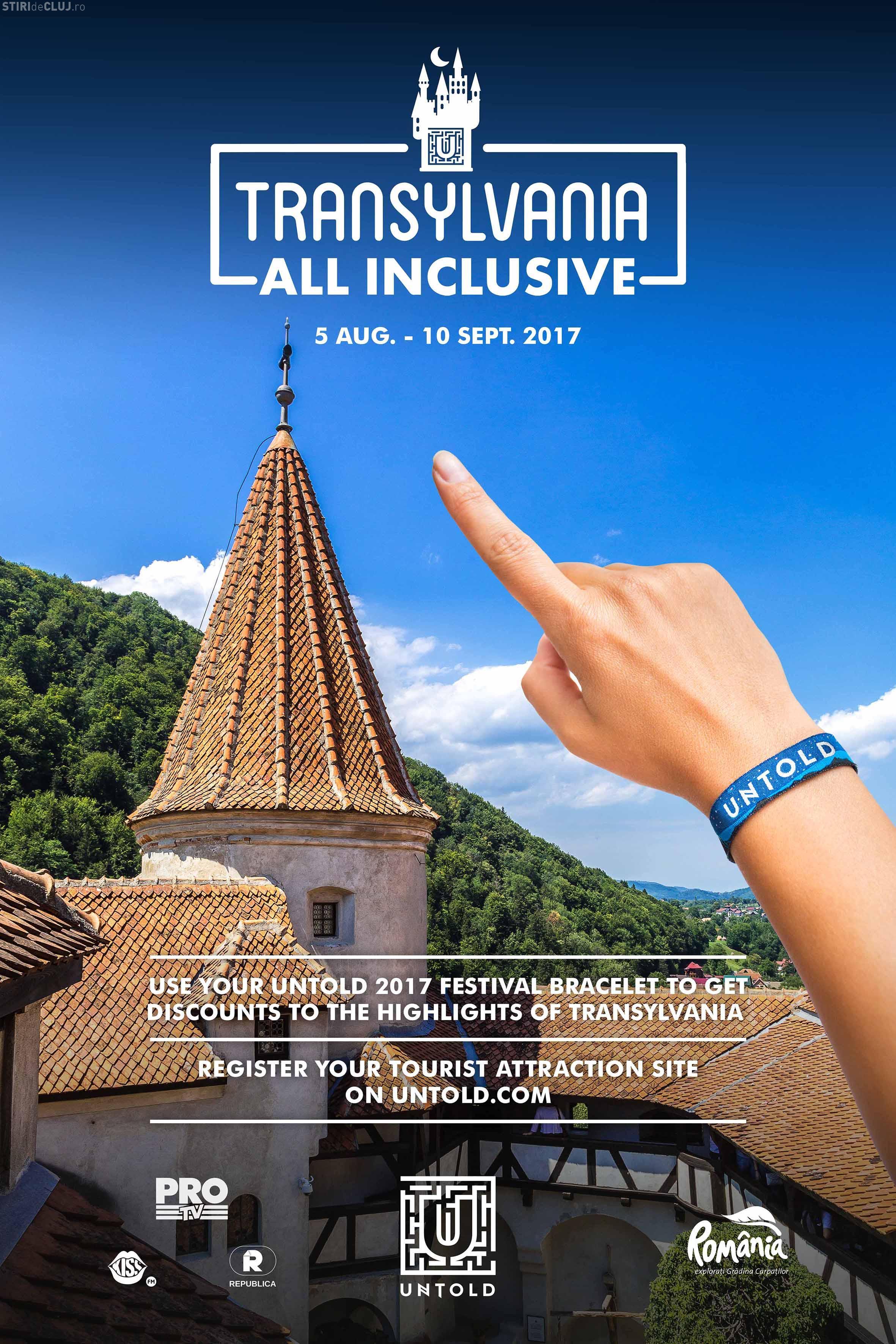 """Untold continuă și în acest an experiența """"Transilvania All Inclusive"""""""