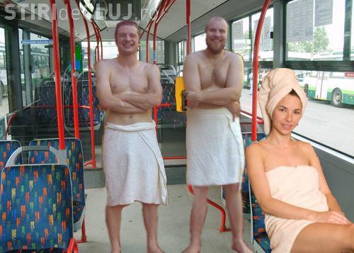 Cluj: Aerul condiționat e un lux în autobuze și troleibuze. Clujenii fac saună pe gratis
