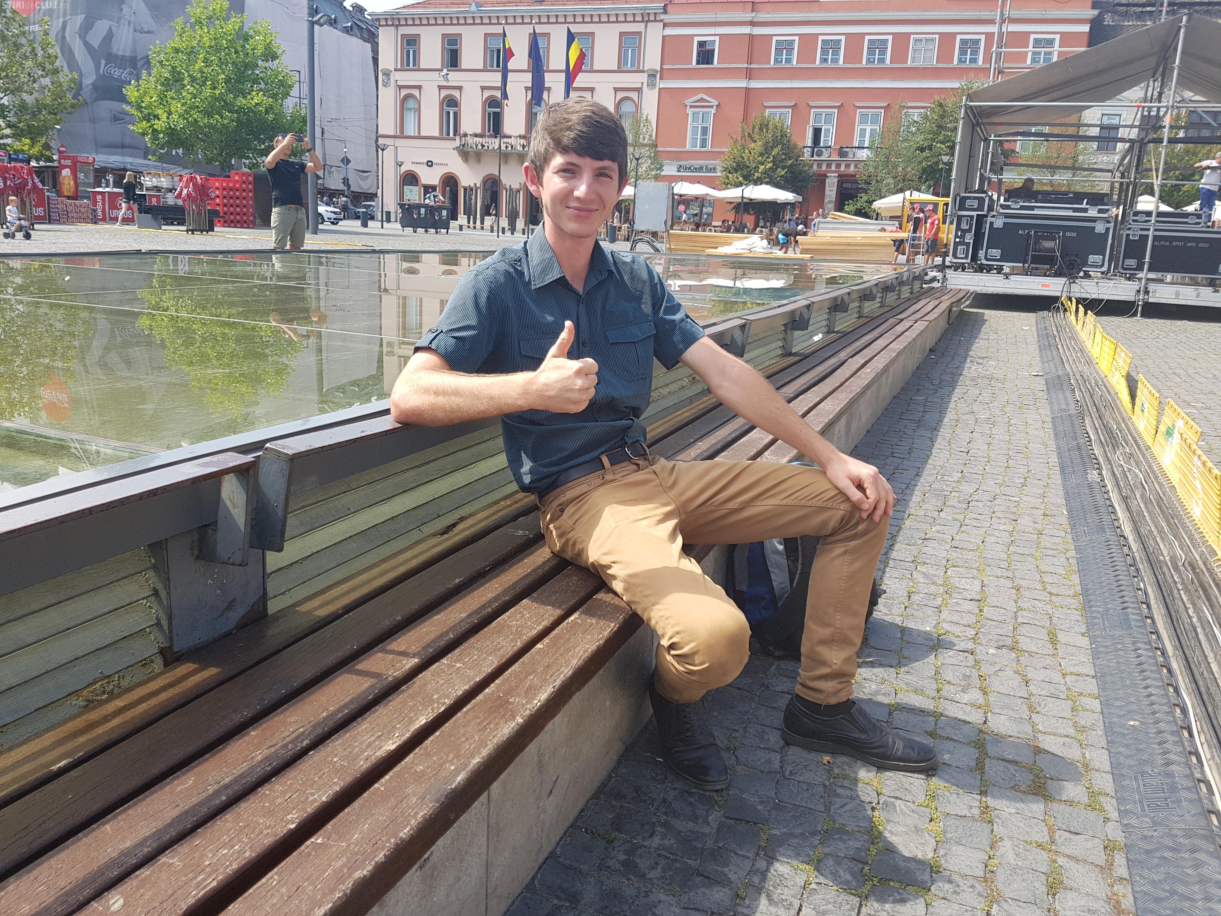Un clujean de 20 de ani, crescut în Australia, a revenit acasă și dă o LECȚIE de viață tinerilor români