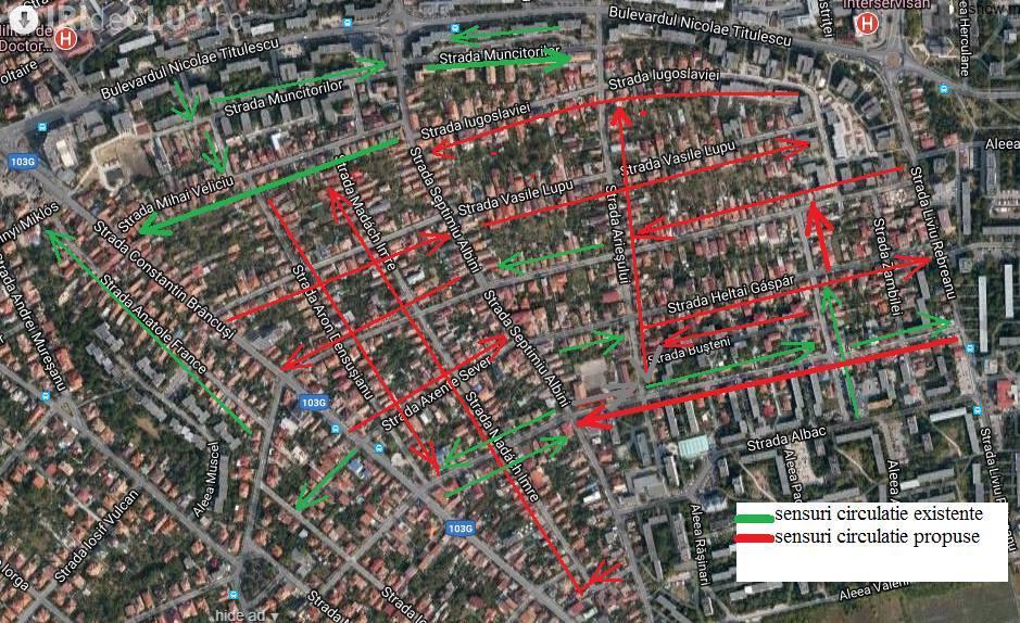 Modificare TOTALĂ a traficului în Gheorgheni. Ce păreri aveți?