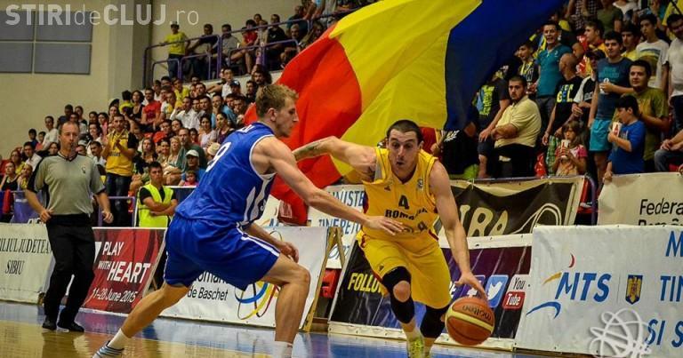 Cluj: Perfomanță istorică la EuroBasket reușită de Andrei Mandache, cel mai bun din lotul României