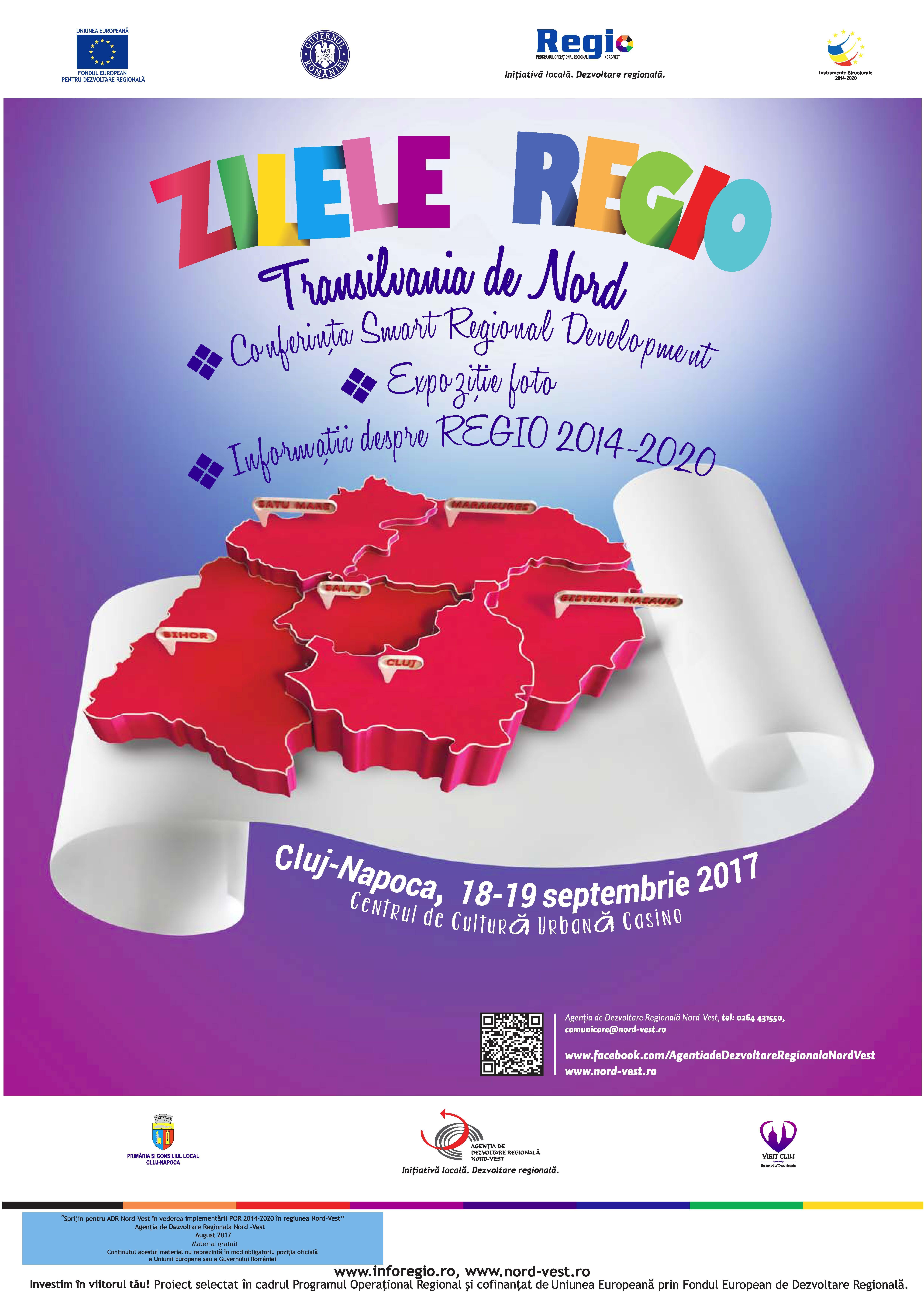 Zilele REGIO 2017- două zile de evenimente dedicate dezvoltării regionale (P)