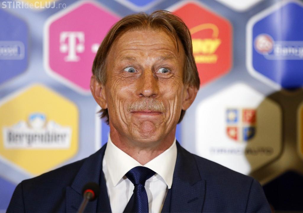 Christoph Daum, demis din funcţia de antrenor al echipei naţionale a României