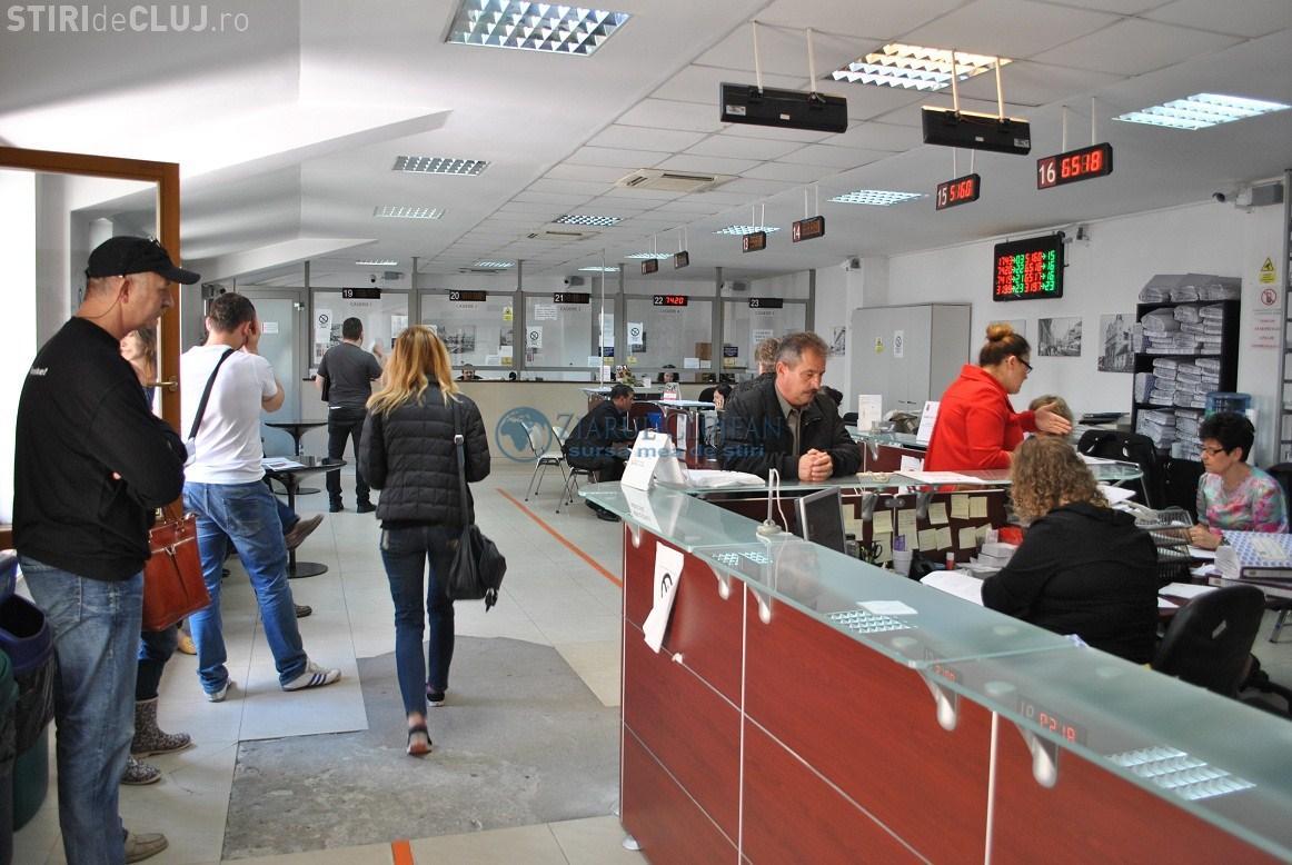 Cluj Innovation City! Declararea unui apartament pentru plata impozitului durează ore bune