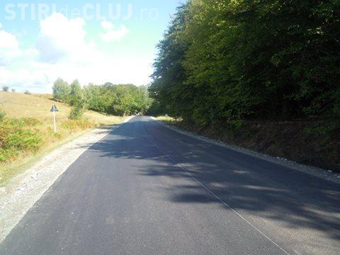 S-au terminat lucrările de asfaltare a drumului Cluj-Napoca – Făget – Ciurila