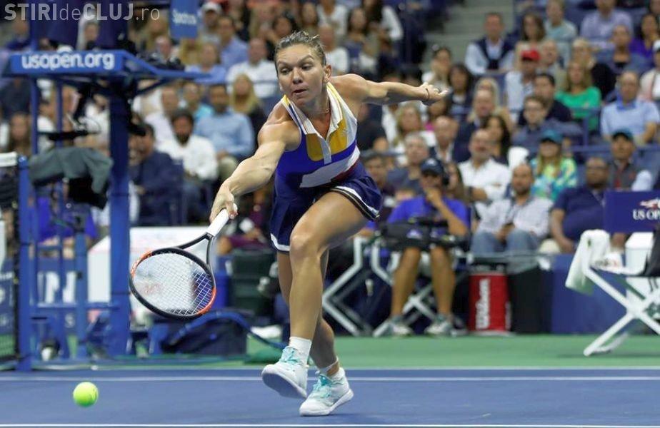 Ce reacție a avut Simona Halep, după meciul pierdut cu Şarapova
