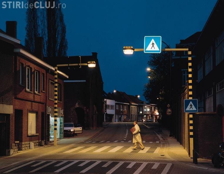 Primăria Cluj-Napoca vrea să ilumineze 140 de treceri de pietoni. Se vorbește de mult de acest proiect