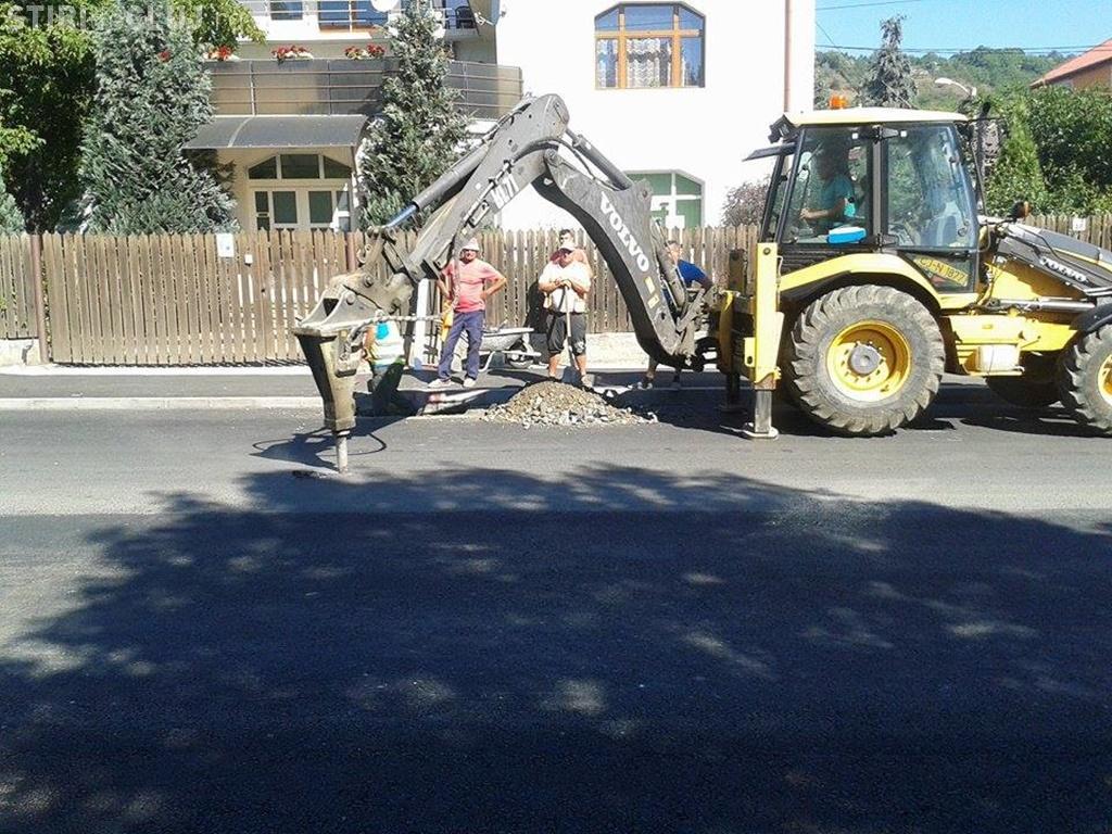 RADP Cluj primește CRITICI de la clujenii din Grigorescu: S-a lucrat defectuos pe strada Fântânele