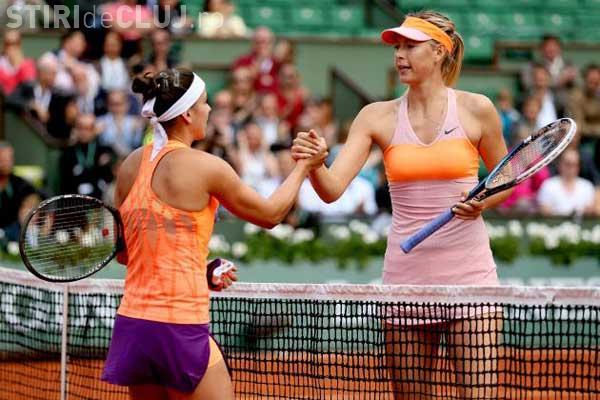 Simona Halep a pierdut meciul cu Maria Șarapova și nu trece de primul tur la US Open