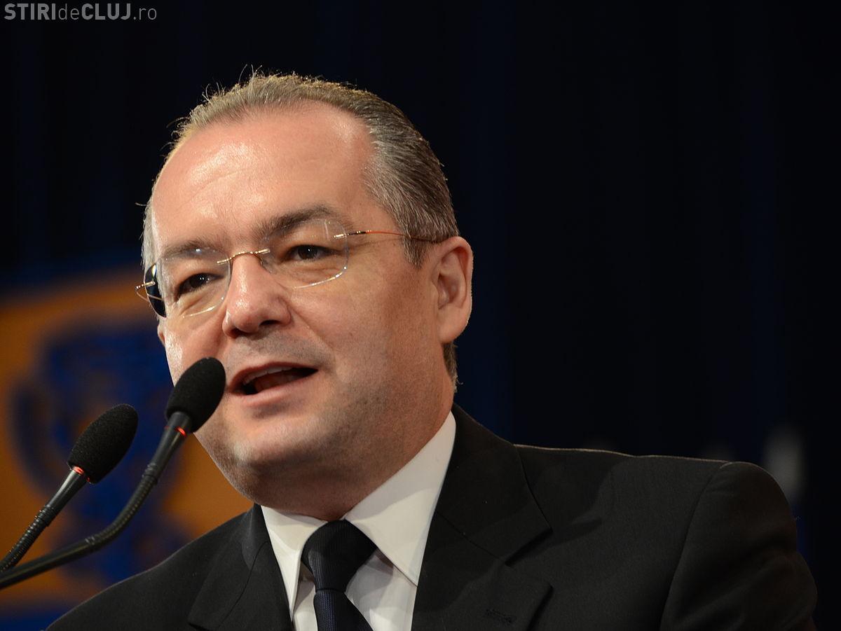 Boc către oficialii REGI din Parlamentul European: Riscăm să pierdem 150 de milioane de euro pentru centura Clujului?