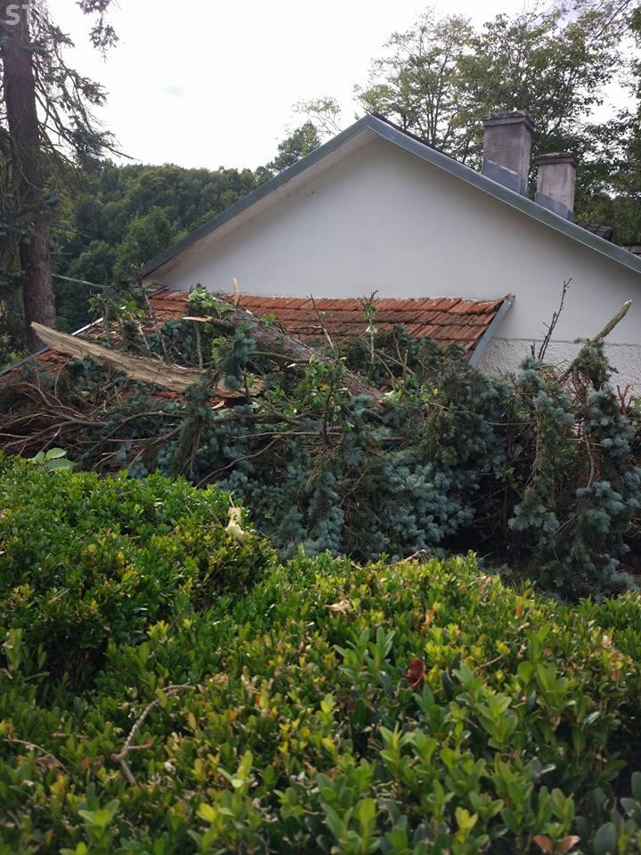 Muzeul din Ciucea, închis în urma furtunii de duminică - FOTO