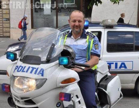 """Interviu cu """"pensionarul"""" Sorin Rus, cel mai cunoscut polițist de la Rutieră din Cluj, despre """"starea de sănătate"""" a Poliției"""