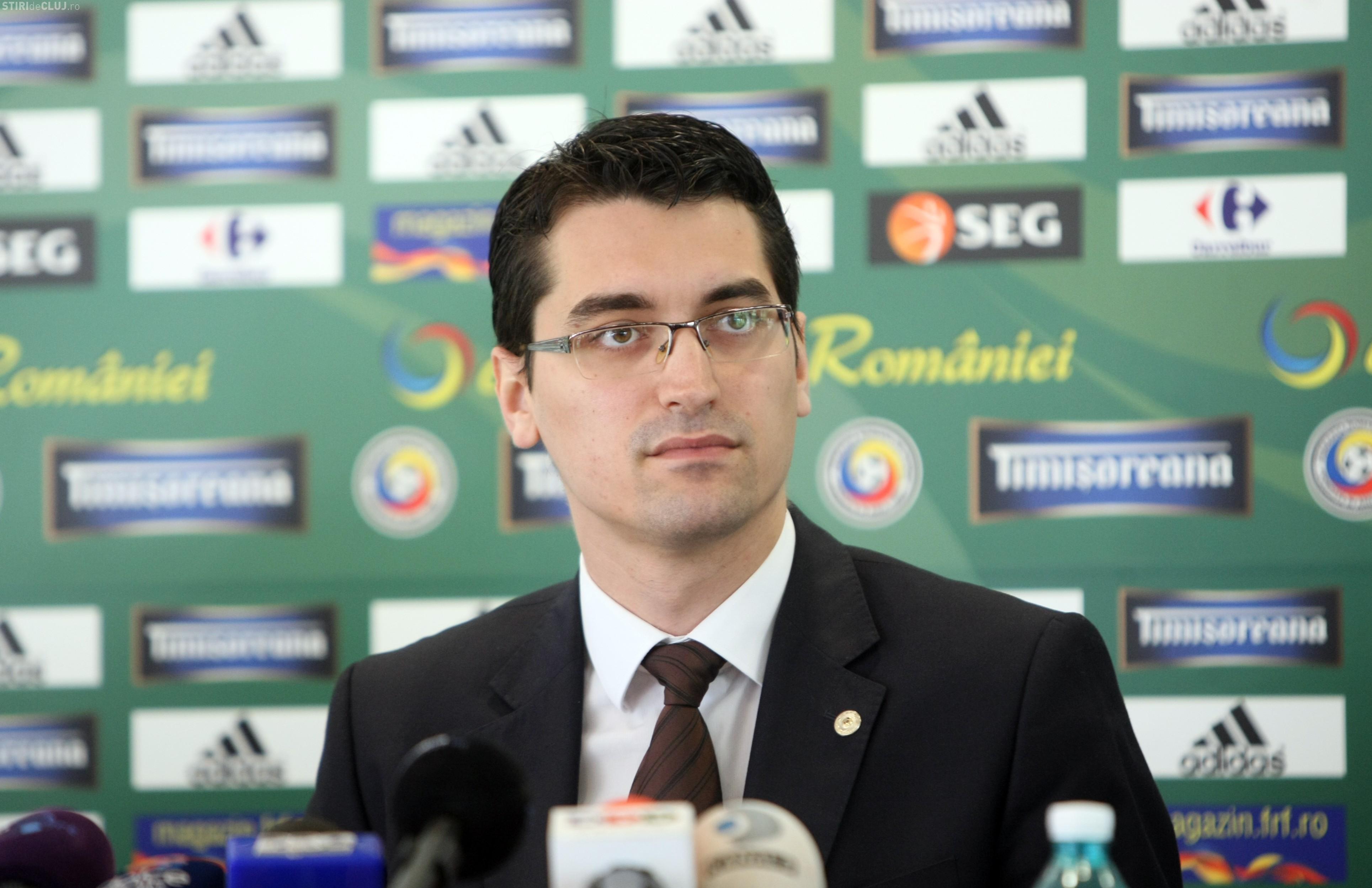 Reacția lui Răzvan Burleanu după ratarea calificării: Am avut pretenţii de la Christoph Daum